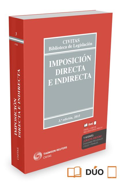 IMPOSICIÓN DIRECTA E INDIRECTA (PAPEL + E-BOOK).
