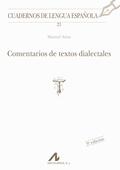 COMENTARIOS TEXTOS DIALECTALES