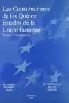 CONSTITUCIONES QUINCE ESTADOS UNION EUROPEA