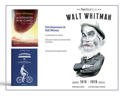 PACK BICENTENARIO WALT WHITMAN.