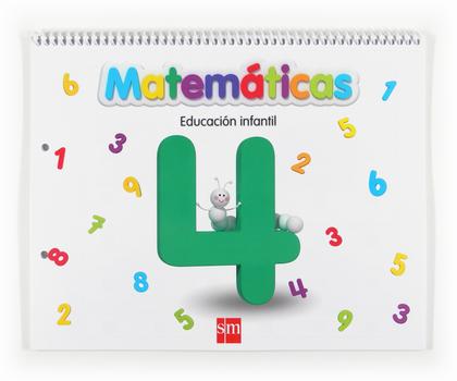 MATEMÁTICAS 4, EDUCACIÓN INFANTIL