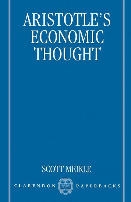ARISTOTLE´S ECONOMIC THOUGHT