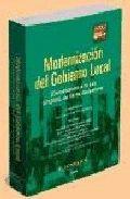 MODERNIZACIÓN DEL GOBIERNO LOCAL: COMENTARIOS A LA LEY 57/2003, DE 16 DE DICIEMBRE