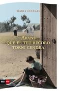 ABANS QUE EL TEU RECORD TORNI CENDRA.
