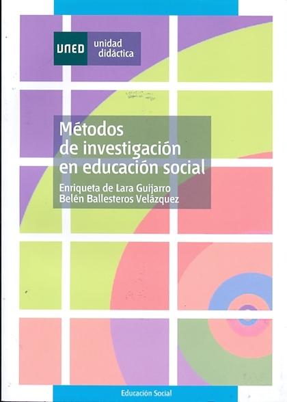 MÉTODOS DE INVESTIGACIÓN EN EDUCACIÓN SOCIAL