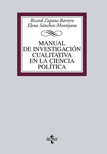 MANUAL DE INVESTIGACIÓN CUALITATIVA EN LA CIENCIA POLÍTICA