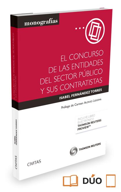 EL CONCURSO DE LAS ENTIDADES DEL SECTOR PÚBLICO Y SUS CONTRATISTAS (PAPEL + E-BO.