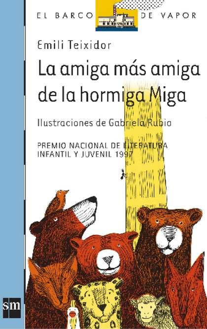 LA AMIGA MAS AMIGA DE LA HORMIGA MIGA BVA 74