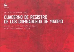 CUADERNO DE REGISTRO DE LOS BOMBARDEOS DE MADRID