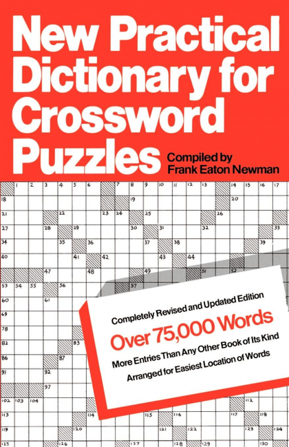 NEW PRACTICAL DICTIONARY FOR CROSSWORD PUZZLES