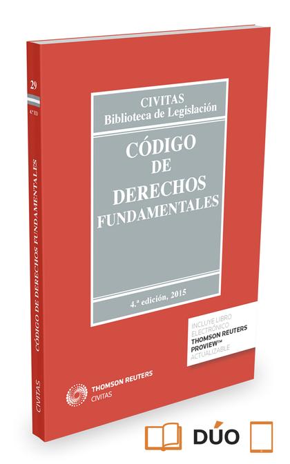 CÓDIGO DE DERECHOS FUNDAMENTALES (PAPEL + E-BOOK).