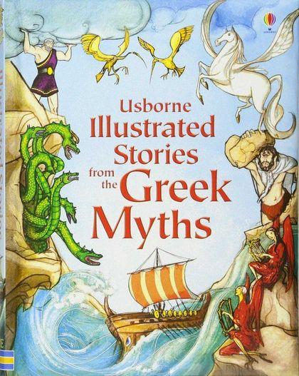 ILLUSTRATED STORIES GREEK MYTHS