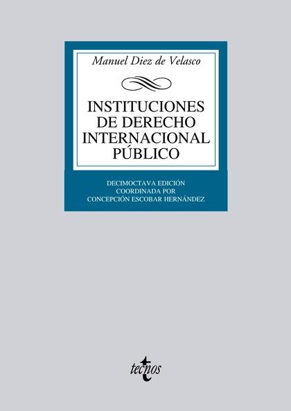 INSTITUCIONES DE DERECHO INTERNACIONAL PÚBLICO.