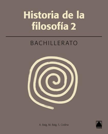 HISTORIA DE LA FILOSOFÍA 2. BACHILLERATO (2016)