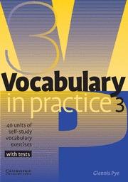 VOCABULARY IN PRACTICE 3