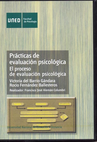 PRÁCTICAS DE EVALUACIÓN PSICOLÓGICA : EL PROCESO DE EVALUACIÓN PSICOLÓGICA
