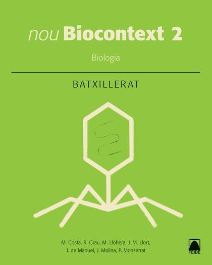 BIOCONTEXT BIOLOGIA 2 BATXILLERAT.