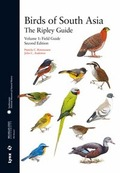 BIRDS OF SOUTH  ASIA: THE RIPLEY GUIDE -VOL.I. FIELD GUIDE