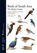 BIRDS OF SOUTH  ASIA: THE RIPLEY GUIDE. VOL.II. ATTRIBUTES AND STATUS