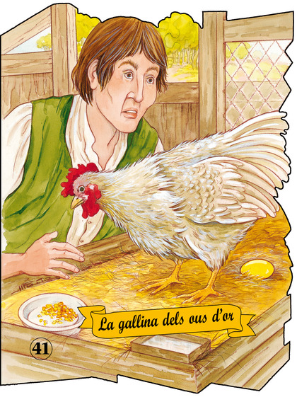 GALLINA OUS D´OR