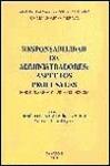 RESPONSABILIDAD DE ADMINISTRADORES : ASPECTOS PROCESALES : FORMULARIOS Y JURISPRUDENCIA