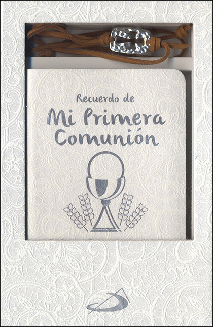 ESTUCHE PRIMERA COMUNION. MODELO 1                                              ORACIONES Y PUL