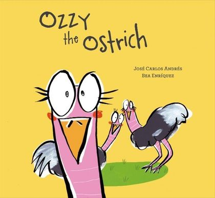 OZZY THE OSTRICH.