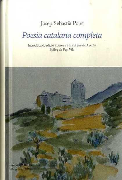 POESIA CATALANA COMPLETA                                                        INTRODUCCIÓ, ED