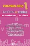 VOCABULARIO, 1 EDUCACIÓN PRIMARIA