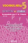 VOCABULARIO, 5 EDUCACIÓN PRIMARIA