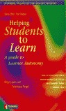 HELPING STUDENTS TO LEARN : A GUIDE TO LEARNER AUTONOMY