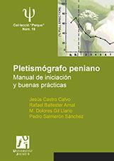 PLETISMOGRAFO PENIANO. MANUAL DE INICIACION