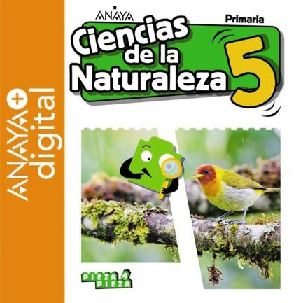 CIENCIAS DE LA NATURALEZA 5. + IN FOCUS. PRIMARIA. ANAYA + DIGITAL..