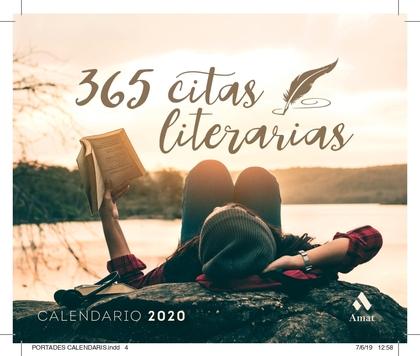 CALENDARIO 2020 365 CITAS LITERARIAS.
