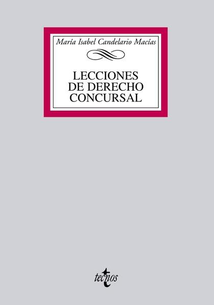 LECCIONES DE DERECHO CONCURSAL