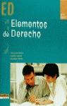 ELEMENTOS DE DERECHO ED GRADO SUPERIOR
