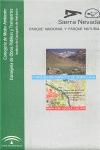 MAPA SIERRA NEVADA - PARQUE NACIONAL Y NATURAL. ESCALA 1:60.000
