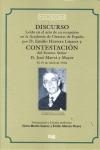 DISCURSO LEÍDO EN EL ACTO DE SU RECEPCIÓN POR D. EMILIO HERRERA LINARES Y CONTESTACIÓN DEL EXCM