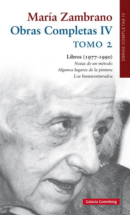 OBRAS COMPLETAS IV LIBROS (1977-1990). TOMO 2