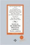 MANUAL DE DERECHO PROCESAL LABORAL:. TEORÍA Y PRÁCTICA