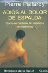 ADIOS AL DOLOR DE ESPALDA