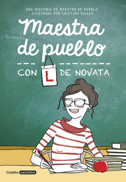 MAESTRA DE PUEBLO CON L DE NOVATA.