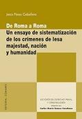DE ROMA A ROMA: UN ENSAYO DE SISTEMATIZACIÓN DE LOS CRÍMENES DE LESA MAJESTAD, N.