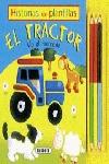 HISTORIAS CON PLANTILLAS. EL TRACTOR VA AL MERCADO