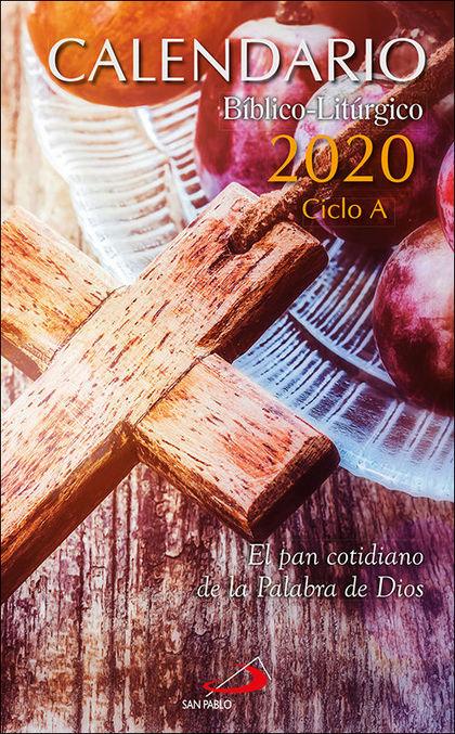 CALENDARIO BIBLICO LITURGICO 2020 CICLO A