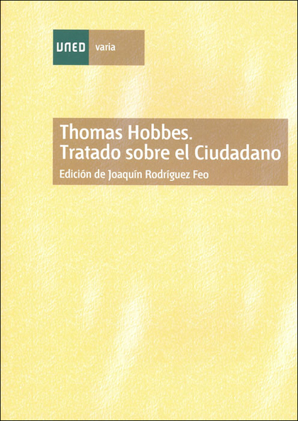 THOMAS HOBBES : TRATADO SOBRE EL CIUDADANO