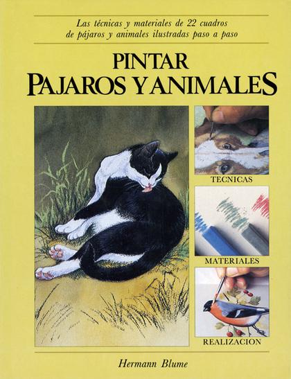 PINTAR PAJAROS ANIMALES