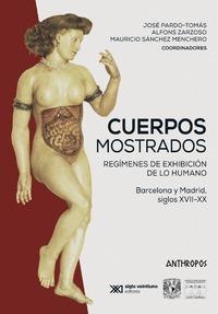 CUERPOS MOSTRADOS