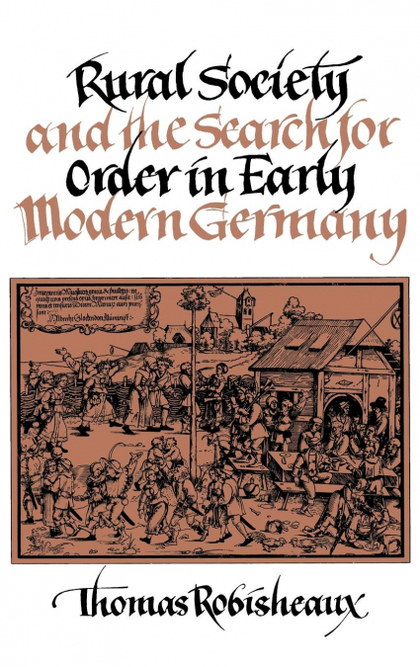 RURAL SOCIETY EARLY MODERN GER