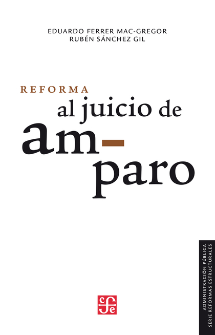 Reforma al juicio de amparo